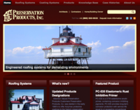 Preservation Products Home Page Thumbnail